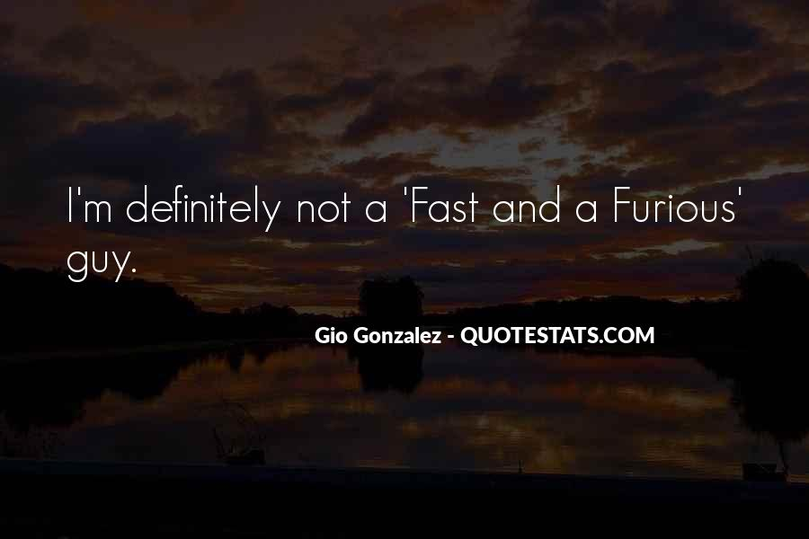 Quotes About Fast & Furious 7 #893023