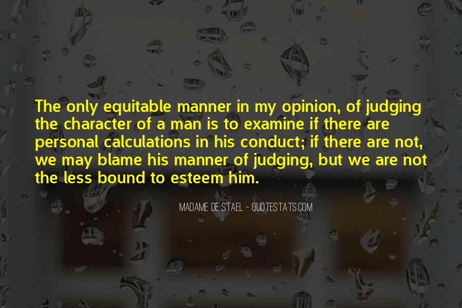 Quotes About Judging One's Character #1108070