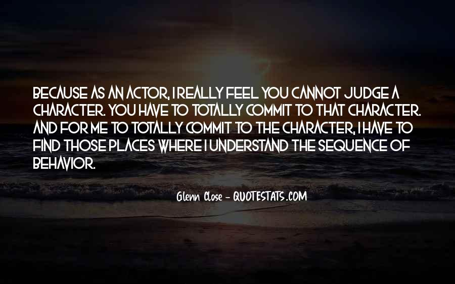 Quotes About Judging One's Character #1127991
