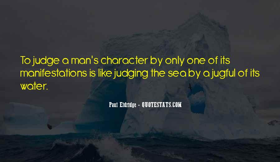 Quotes About Judging One's Character #1171284