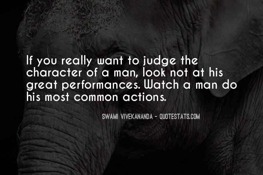 Quotes About Judging One's Character #1209761