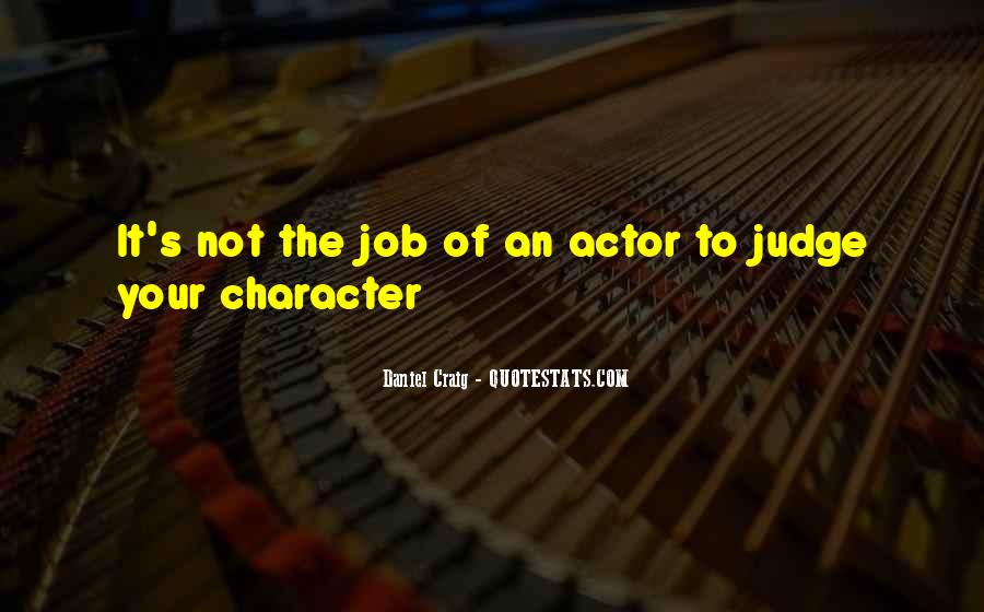 Quotes About Judging One's Character #1271356