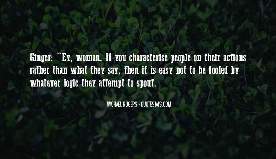 Quotes About Judging One's Character #1411783