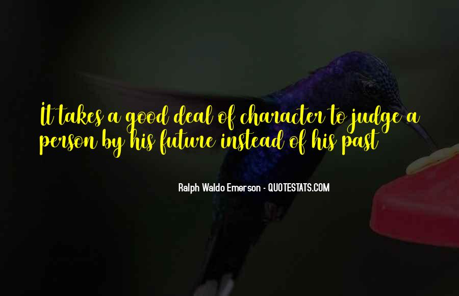 Quotes About Judging One's Character #148104