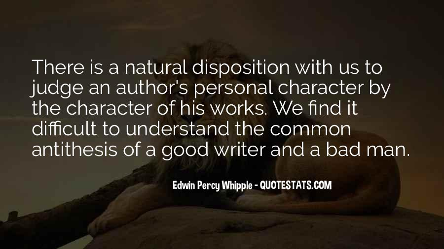 Quotes About Judging One's Character #148219