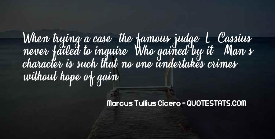 Quotes About Judging One's Character #1511429