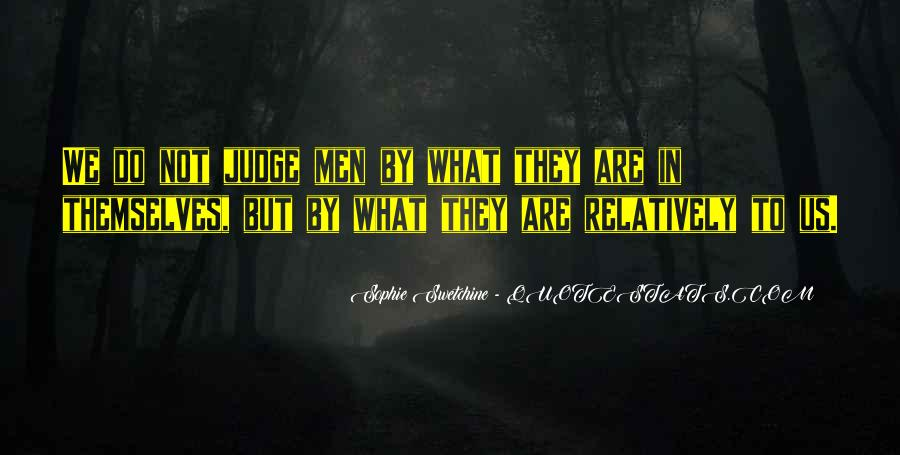 Quotes About Judging One's Character #403302