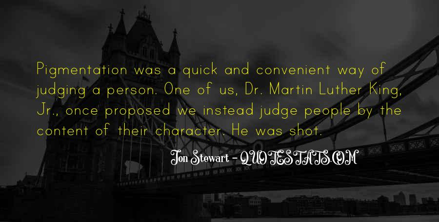 Quotes About Judging One's Character #45052