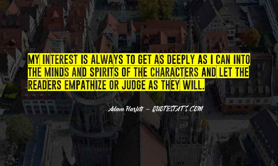 Quotes About Judging One's Character #580348