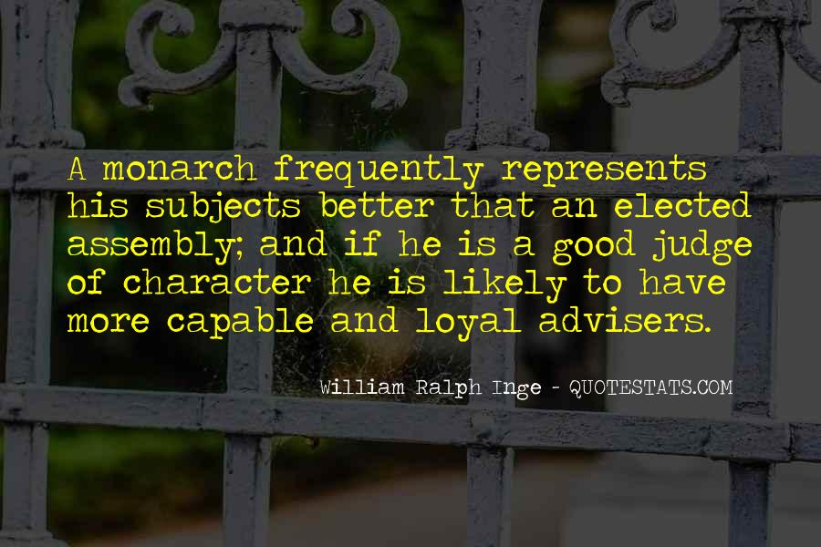 Quotes About Judging One's Character #872822