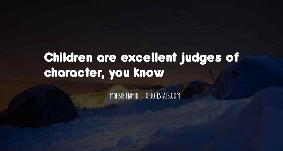 Quotes About Judging One's Character #942023
