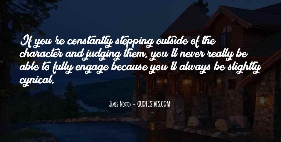 Quotes About Judging One's Character #980949