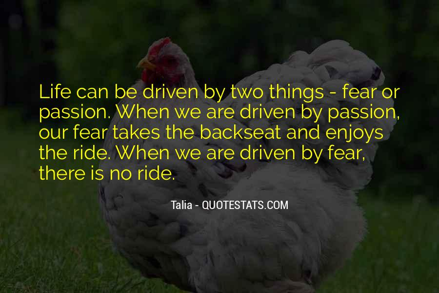 Quotes About The Backseat #1096937