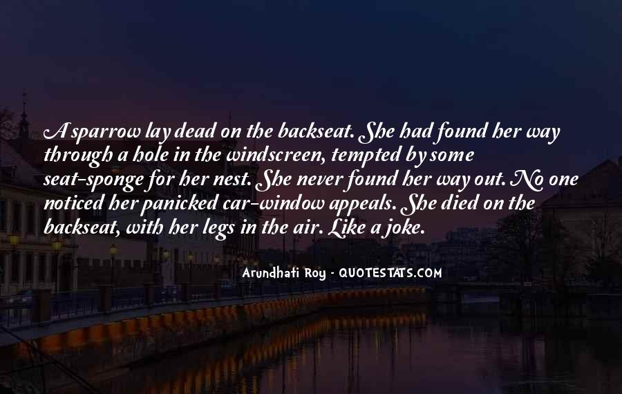 Quotes About The Backseat #1165304