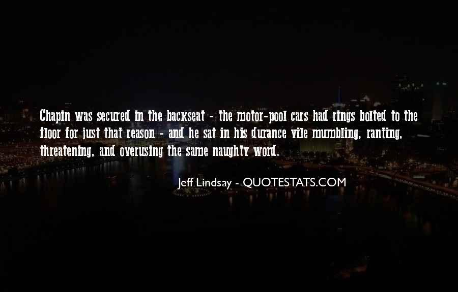Quotes About The Backseat #1171770