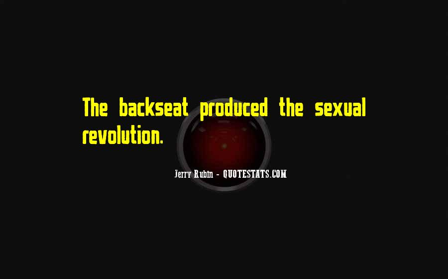 Quotes About The Backseat #1504399