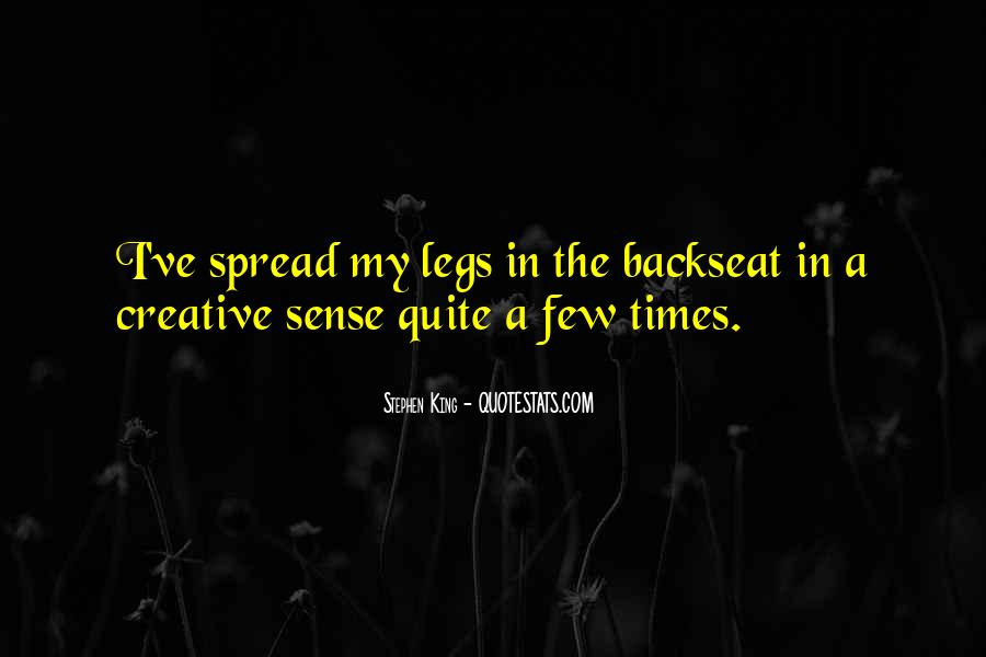 Quotes About The Backseat #1546977