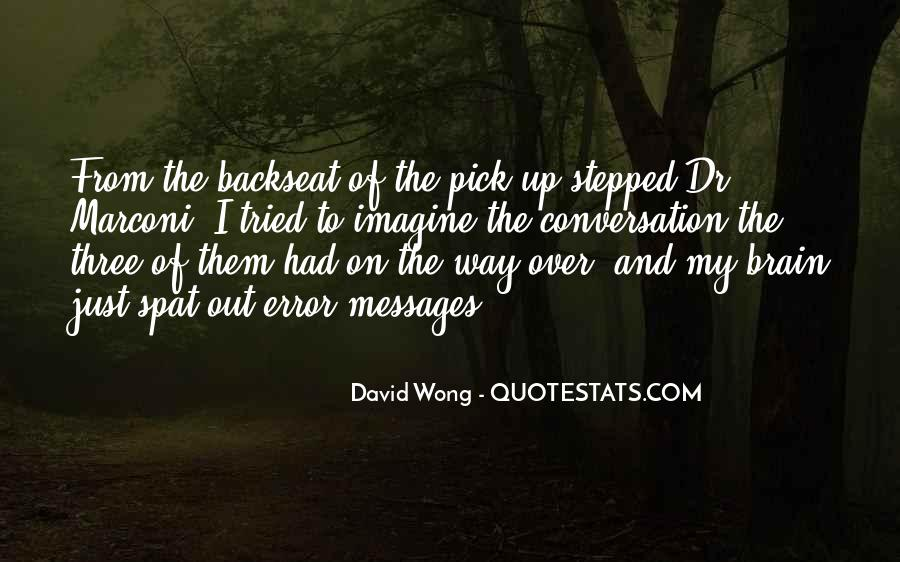 Quotes About The Backseat #306196