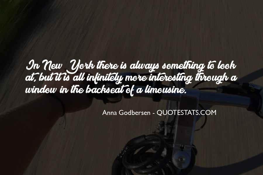 Quotes About The Backseat #723424