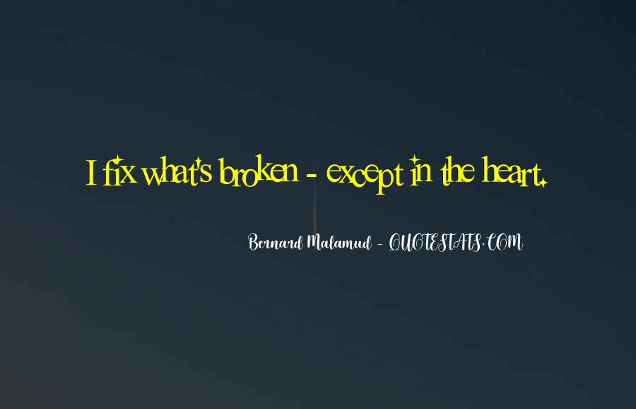 Quotes About Fixing A Broken Heart #258064