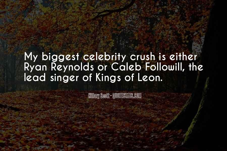 Quotes About Having A Crush On A Celebrity #995618