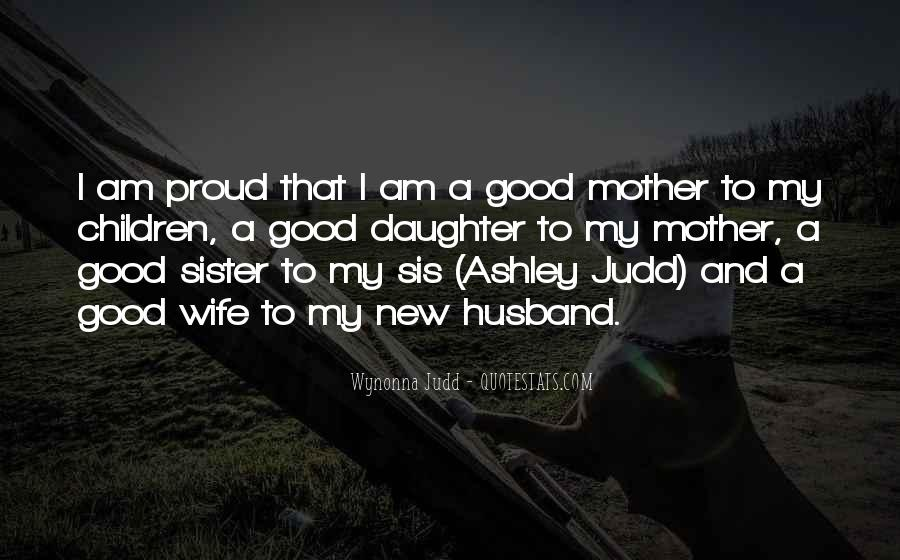 Quotes About Proud Wife #1119634
