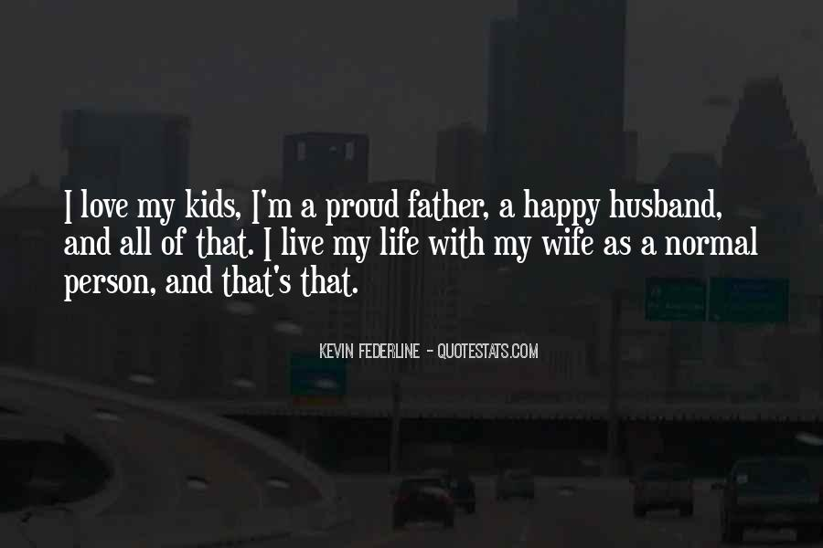 Quotes About Proud Wife #1311072