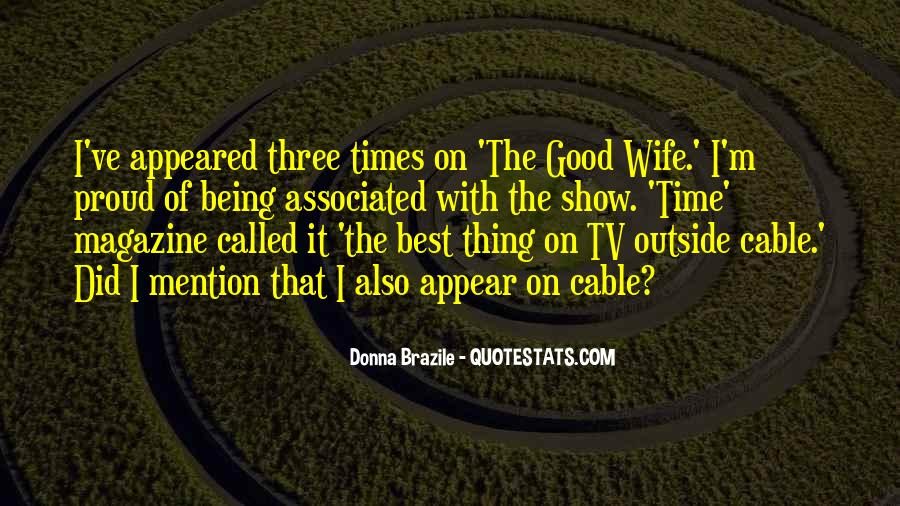 Quotes About Proud Wife #1541047