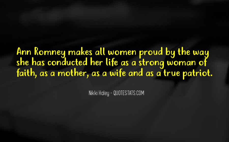 Quotes About Proud Wife #664413