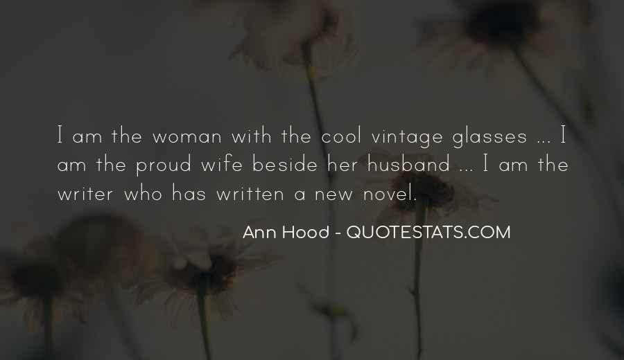 Quotes About Proud Wife #893924