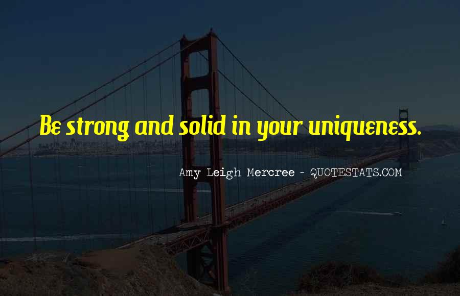 Quotes About Solid #58397
