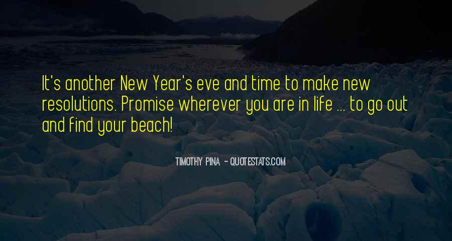 Quotes About Life And New Year #1519238