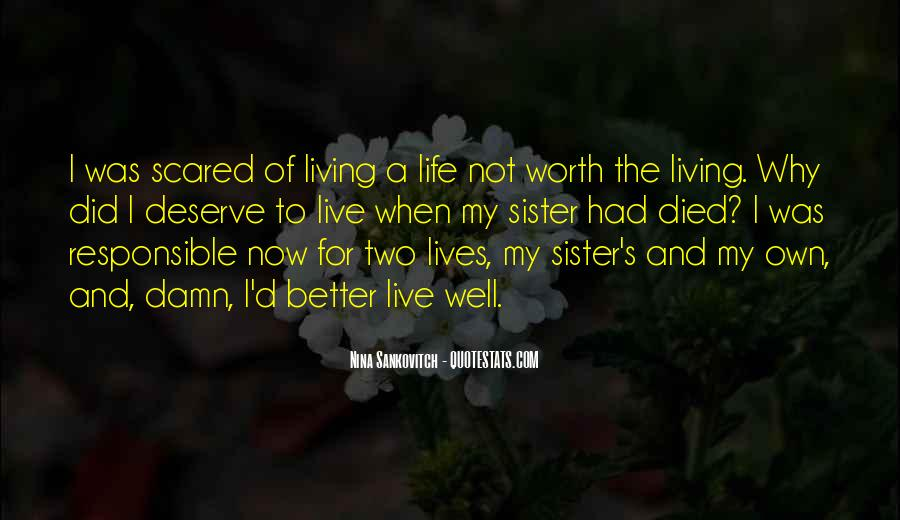 Quotes About Grieving The Loss Of A Sister #1037594