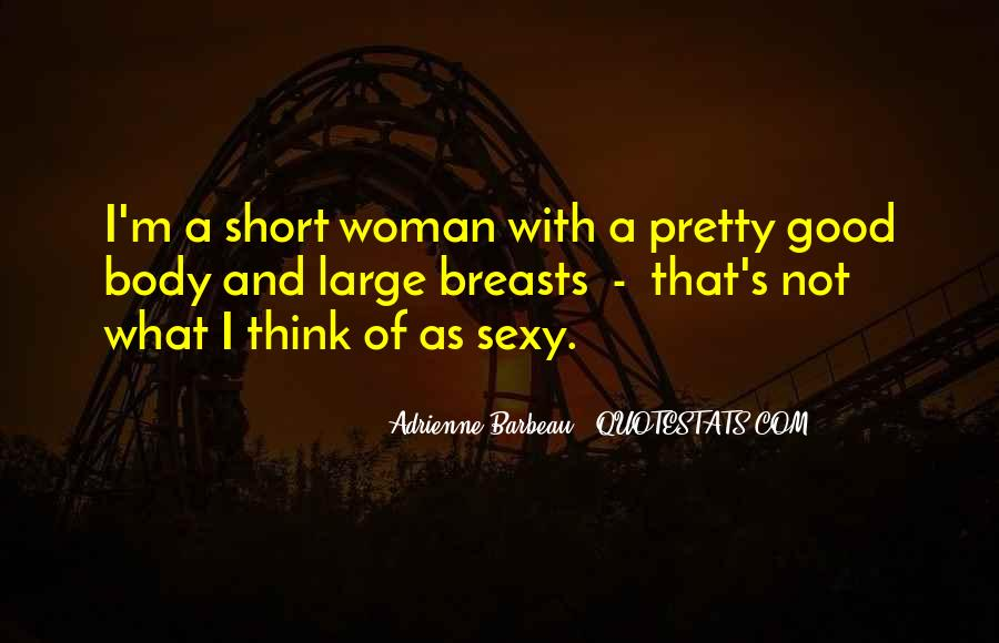 Quotes About Large Breasts #1280392