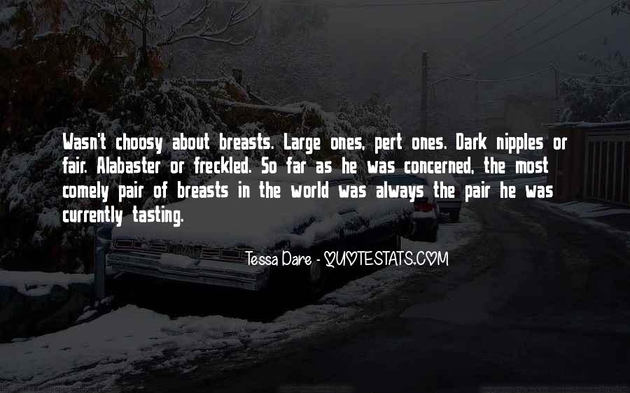 Quotes About Large Breasts #1865769