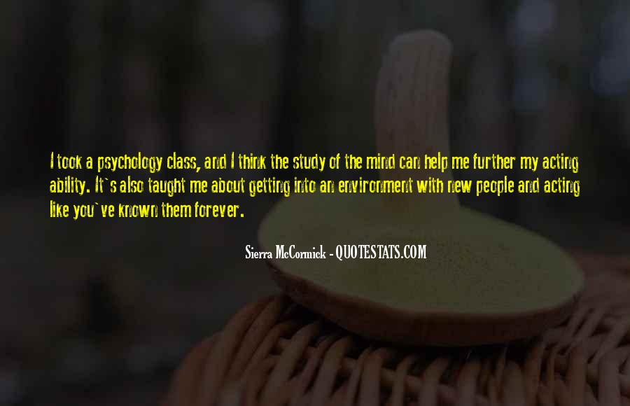 Quotes About Psychology Class #1105469