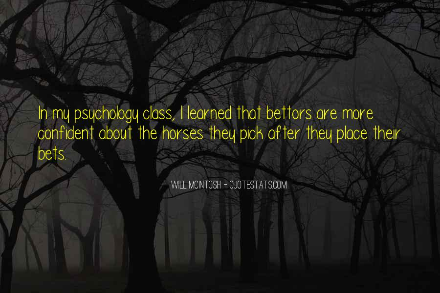 Quotes About Psychology Class #934091