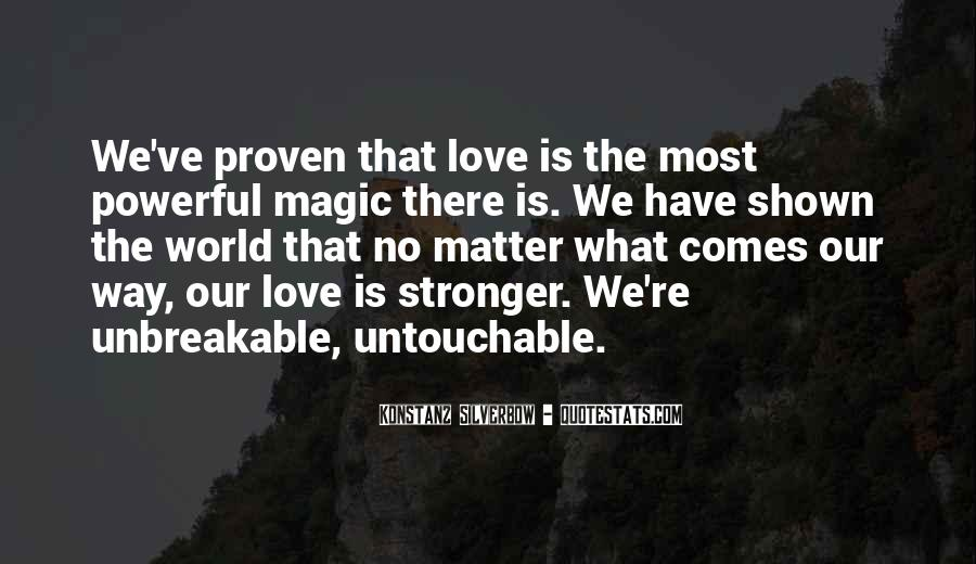 Quotes About Untouchable Love #1487932