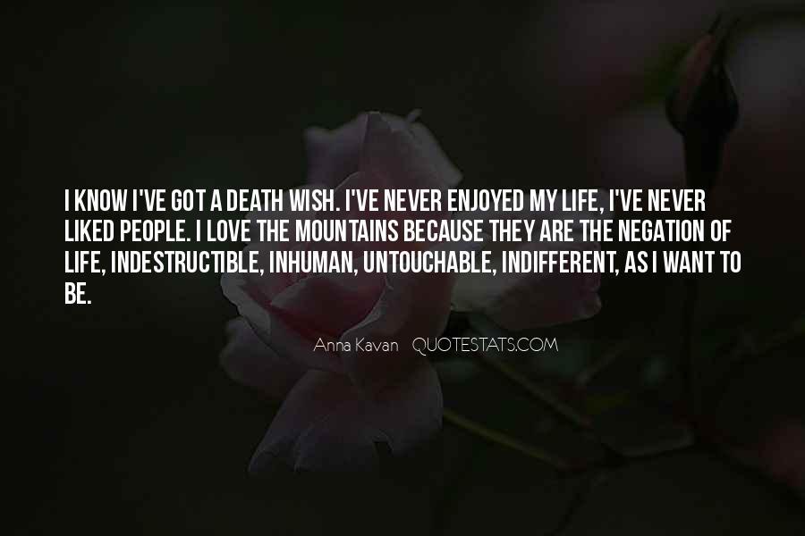 Quotes About Untouchable Love #356770