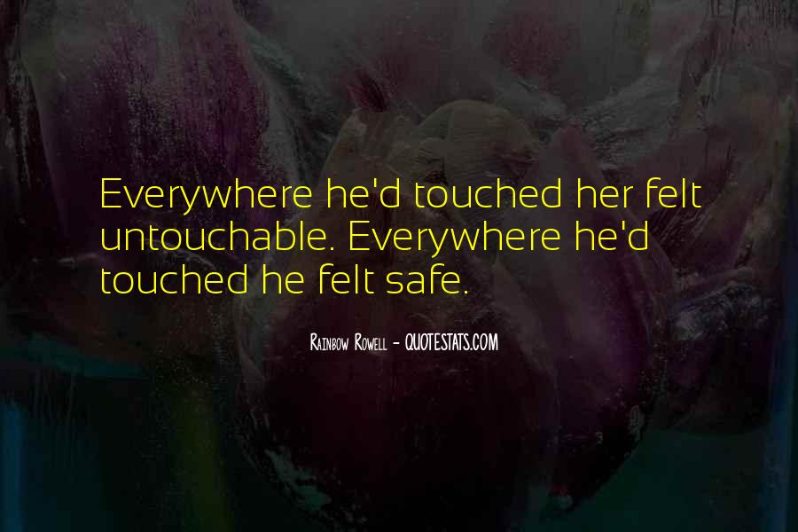 Quotes About Untouchable Love #425221