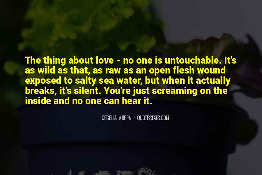 Quotes About Untouchable Love #575517