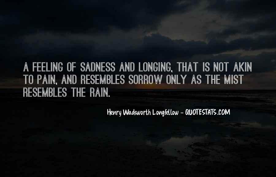 Quotes About Sadness And Pain #1050480