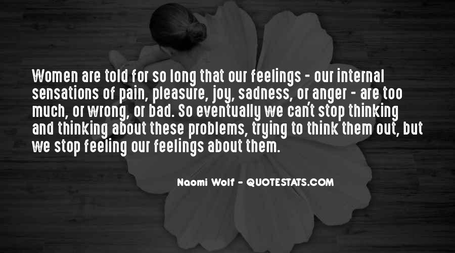 Quotes About Sadness And Pain #1159254