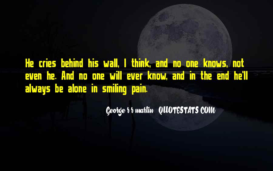 Quotes About Sadness And Pain #1216511
