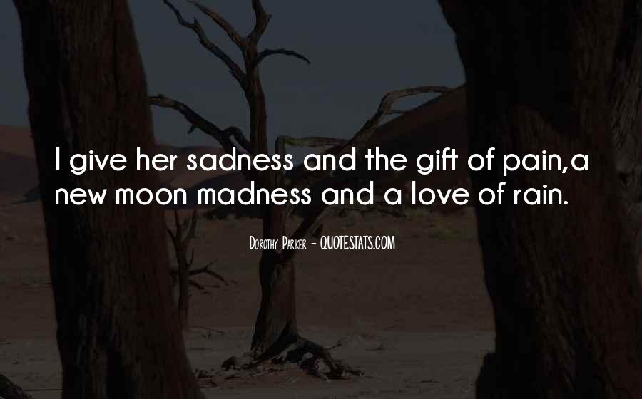 Quotes About Sadness And Pain #160212