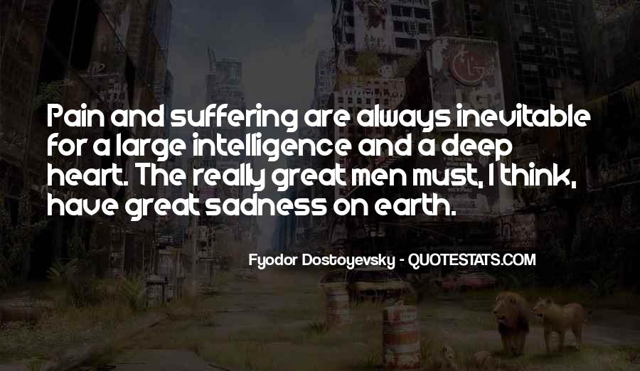 Quotes About Sadness And Pain #214578