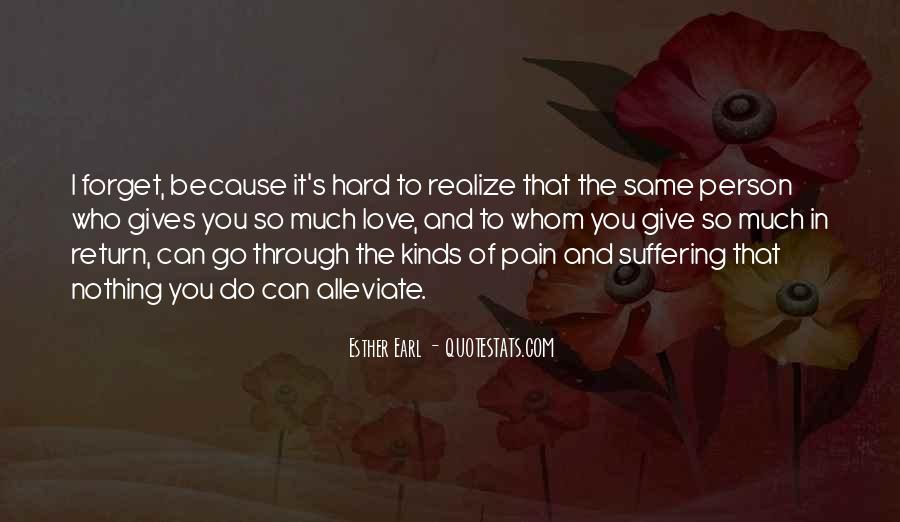 Quotes About Sadness And Pain #595334