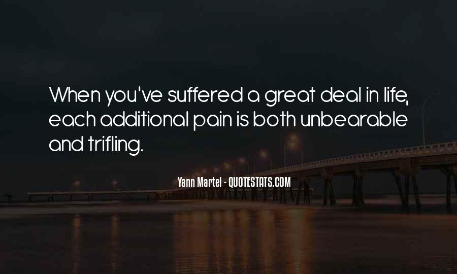 Quotes About Sadness And Pain #828958