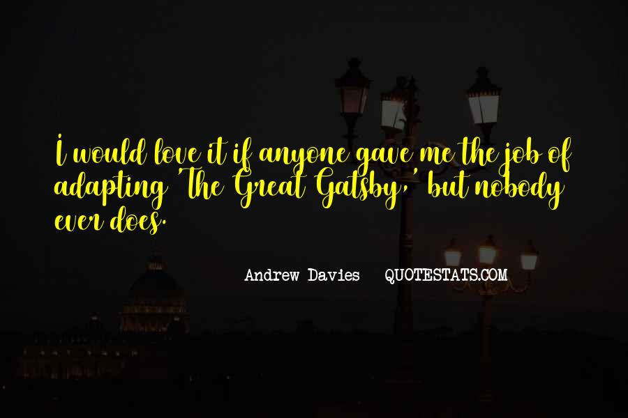 Quotes About Love From Great Gatsby #1761463