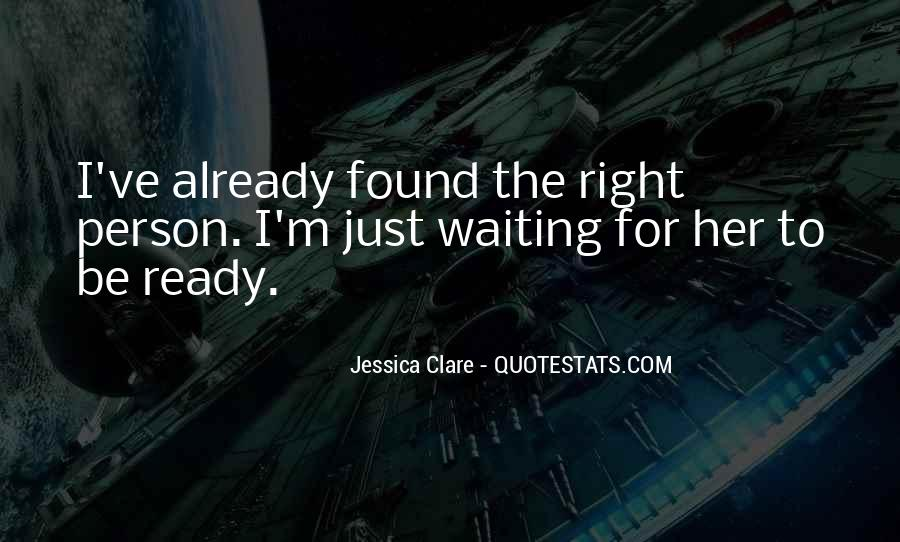 Quotes About Waiting For Her Love #1087078